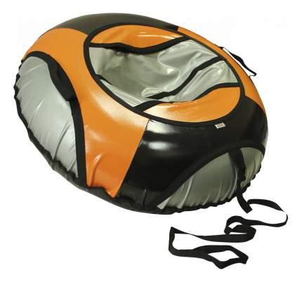Тюбинг детский Belon Тент 85 см серо-черно-оранжевый