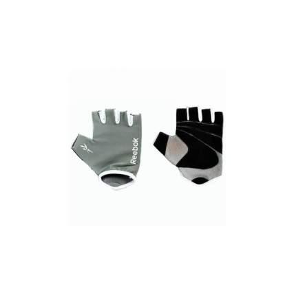 Перчатки для фитнеса и тяжелой атлетики Reebok RAEL-11133GR серые S/M