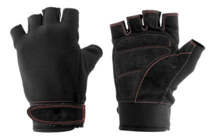 Перчатки для тяжелой атлетики и фитнеса Torres PL6021, черные, L