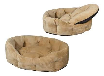 Лежанка для кошек и собак Дарэлл 40x50x16см бежевый
