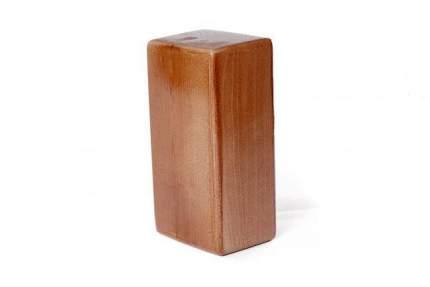 Кирпич для йоги RamaYoga премиум лакированный в глазури 515632