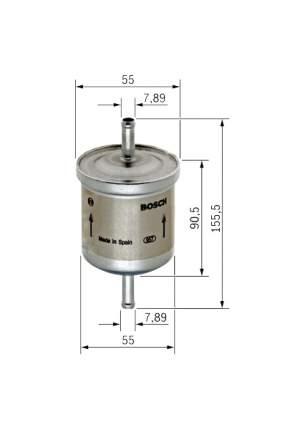 Фильтр топливный Bosch 450905316