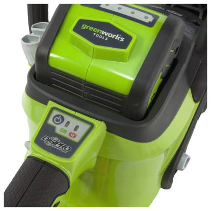 Аккумуляторная цепная пила Greenworks GD40CS40 20077ub
