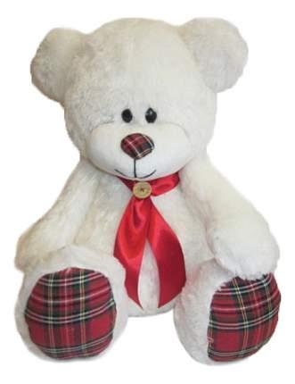 Мягкая игрушка Волшебный мир Медведь Мишка курносик 45 см белый 7с-1411-ри