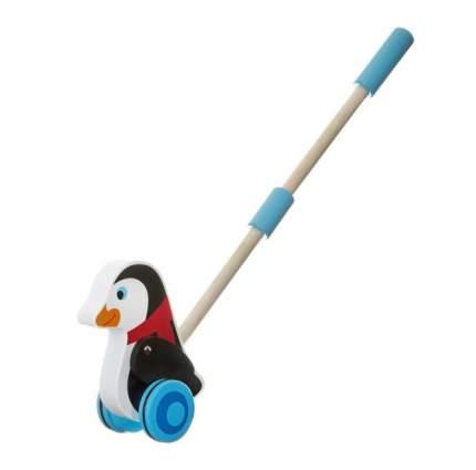 Игрушка-каталка с ручкой Пингвин Bondibon вв2038