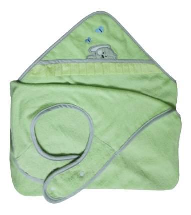 Полотенце детское Зайки, зеленый Polini 100*120 см