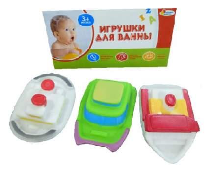 Игрушки для ванной 3 корабля Играем вместе В1466423