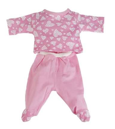Костюм розовый для куклы 40-42 см Карапуз OTF-1706