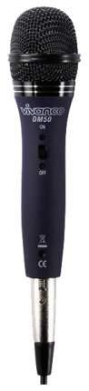 Динамический микрофон Vivanco 50109615 Черный