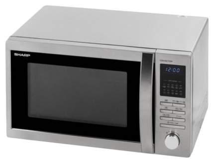 Микроволновая печь с грилем и конвекцией Sharp R-8496ST silver/black