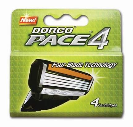 Сменное лезвие для станка Dorco 1, 4 шт