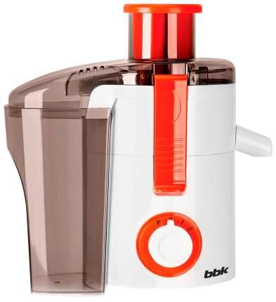 Соковыжималка центробежная BBK JC060-H11 white/orange