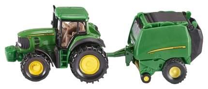 Трактор с прессподборщиком Siku