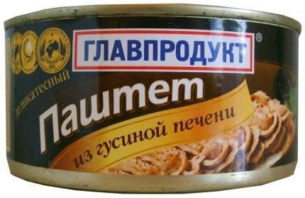 Паштет Главпродукт деликатесный с гусиной печенью 315 г