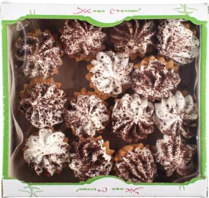 Кекс Живи Вкусно корзиночка песочная шоколадница 350 г