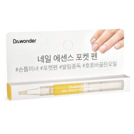 Масло для ногтей Dr+wonder nail essence pocket pen