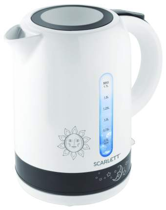 Чайник электрический Scarlett SC-EK18P38 White/Black