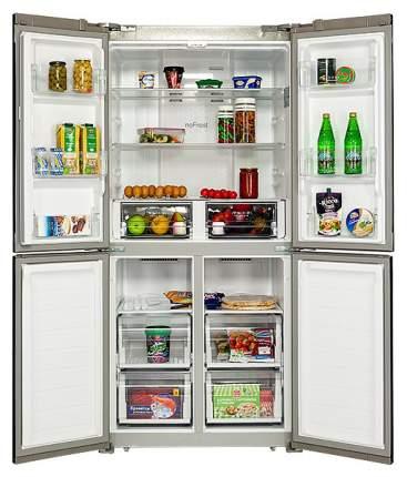 Холодильник Hiberg RFQ-490DX NFGP Pink