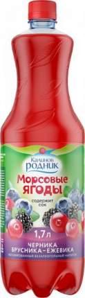 Напиток Морсовые ягоды черника-брусника-морошка Калинов Родник 1.7 л