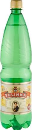 Вода минеральная Sulinka питьевая газированная пластик 1.25 л