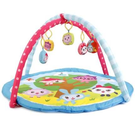 Коврик детский Умка малышарики с мягкими игрушками на подвеске 83x3x83 см