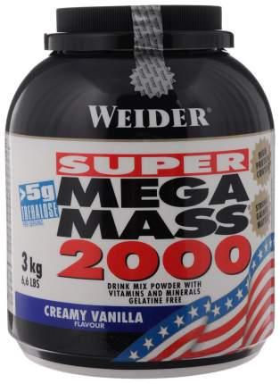 Гейнер Weider Mega Mass 2000 3000 г Creamy Vanilla