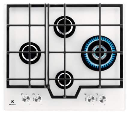 Встраиваемая варочная панель газовая Electrolux GME363NV White
