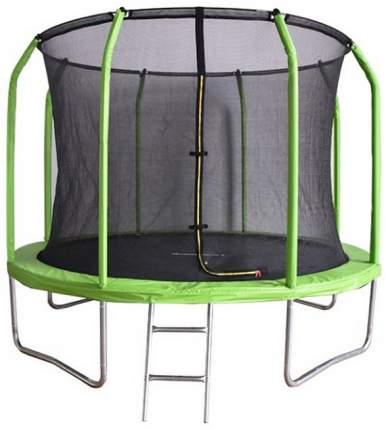 Батут Bondy Sport BS10FTGR с сеткой и лестницей 305 см, green