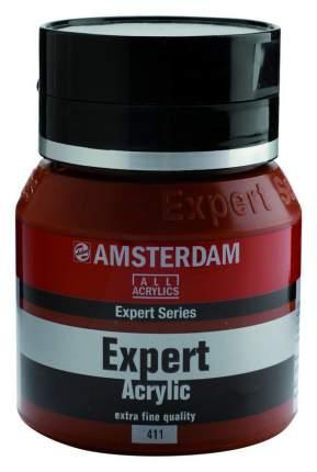 Акриловая краска Royal Talens Amsterdam Expert №411 сиена жженая 400 мл