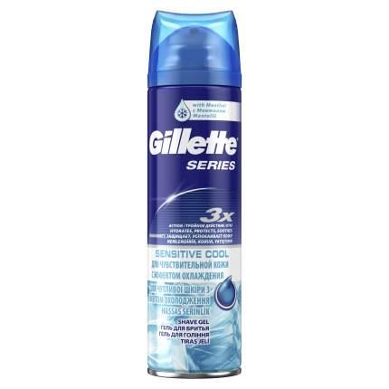 Гель для бритья Gillette Series Охлаждающий 200 мл