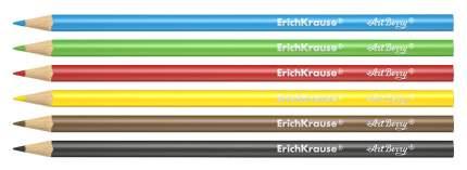 Карандаши цветные Erich Krause 6 цветов