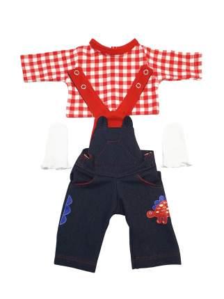Набор одежды для кукол КоЛибри Комбинезон Колибри 310 синий красный белый