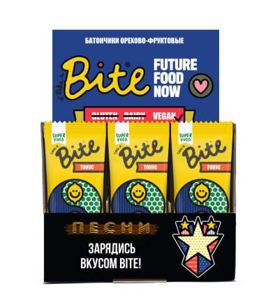 Батончик орехово-фруктовый Take a Bite кумкват-лимон 45 г