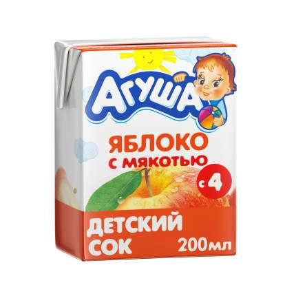 Сок Агуша Яблоко с мякотью с 4 мес 200 мл