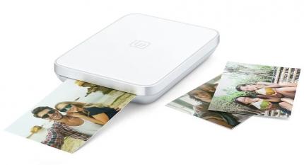 Компактный фотопринтер LifePrint (3х4,5) White