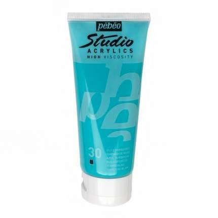 Акриловая краска Pebeo Studio Acrylics 831-030 бирюзовый 100 мл