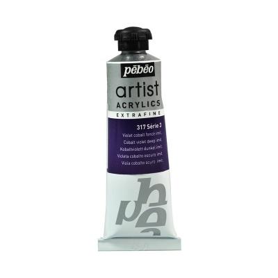 Акриловая краска Pebeo Artist Acrylics extra fine №3 кобальт темно-фиолетовый 37 мл