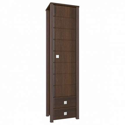 Платяной шкаф Компасс-мебель Изабель ИЗ-15 KOM_IZ15_2 55x40x210, орех темный