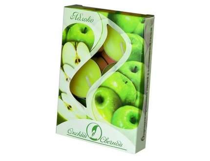 Ароматические свечи Омский Свечной яблоко 3,8х1,6 см 001811-свеча