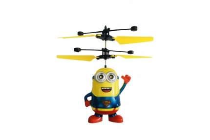 Радиоуправляемый летающий миньон Дэйв CS Toys со светящимися глазами 388C