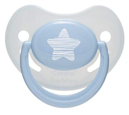 Пустышка Canpol Pastelove анатомич., силик., 6-18 мес., арт. 22/420, цвет: голубой