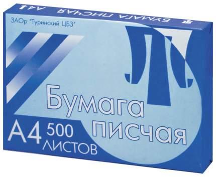 Бумага писчая Туринск А4, 65 г/м2, 500 л, белизна 94%...