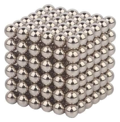 """Куб из магнитных шариков  """"Стальной"""", 5 мм (216 элементов)"""
