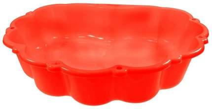 Песочница-бассейн с тентом Mochtoys, малый красный