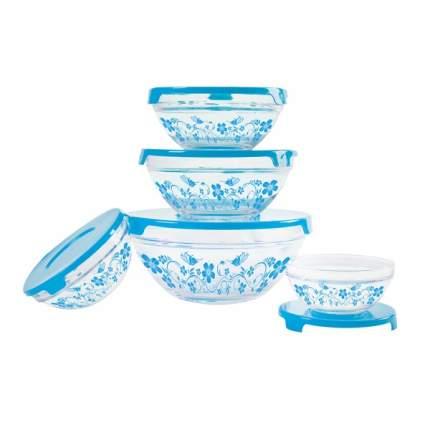 Набор стеклянных салатников IRIT GLSA-5-005