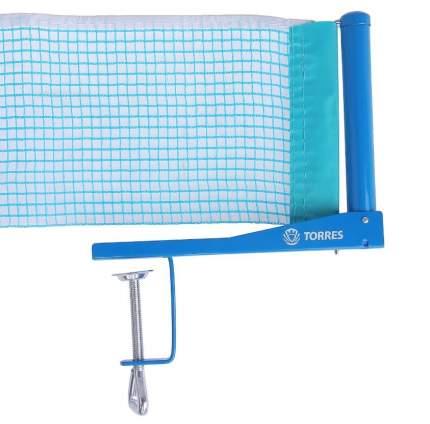 Сетка для настольного тенниса Torres Hobby голубой