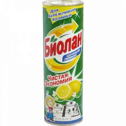 Средство чистящее Биолан Сочный лимон 400г