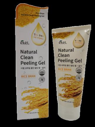 Пилинг для лица с рисовыми отрубями Ekel Peeling Gel Rice Bran 180 мл