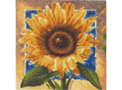 Набор для вышивания Палитра Золотые лепестки
