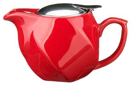 Заварочный чайник Agness 470-180 Красный